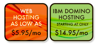 Web & IBM / Lotus Domino Hosting